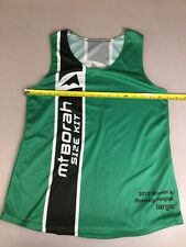 Mt Borah Teamwear Womens Running Singlet Run Large L (6910-101)