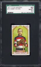 1911 C55 Imperial Tobacco #12 Hamby Shore RC (Ottawa Senators) SGC 92 NM-MT+