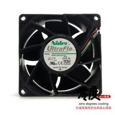 fan NIDEC V80E12BS1A5-07 12V 0.9A 8CM 8038 4 New #YY0