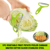 1PC Vegetable Fruit Potato Peeler Cabbage Grater Cutter Slicer Stainless Steel