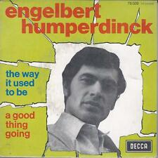 The way it used to be | Engelbert Humperdinck | 45 Tours | Très bon état