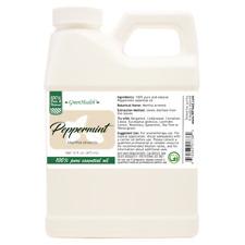 16 fl oz Greenhealth Peppermint Essential Oil All Natural in Plastic Jug