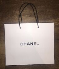 """NEW, AUTHENTIC Chanel White Shopping Bag  10.5"""" x 9"""" x 4.5"""". CHANEL"""