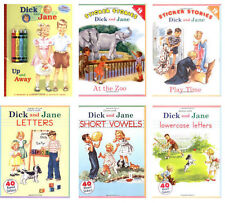 Dick & Jane Color & Activity Set (pb) Letters,Vowels,Lowercase,At the Zoo +