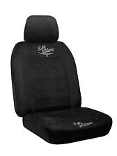 RM Williams Suede - Black - Tailor Made Car Seat Cover To Suit Your Vehicle