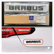 New Gloss Black Brabus Rear Boot Badge For Mercedes Benz UK Seller 🇬🇧