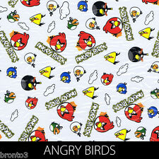 Angry Birds Cartoon Print Dip Stick Hydrographic Film