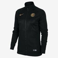 Woman's Nike  Inter Milan  Football Jacket Sz S Black/Truly Gold AO7522-010