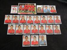 ESPAGNE ESPANA SPAIN   Equipe team Complete panini EURO 2008 UEFA