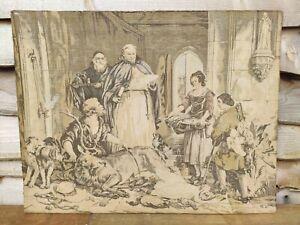 Antique Tapestry Woven on Hattersley Loom. Bolton Abbey. Edwin Landseer