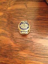 Philco Tech Rep World Wide Service Canada (screwback award pin)Vintage