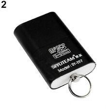 Portable Mini USB 2.0 Micro SD TF T-Flash Memory Card Reader Adapter Flash Drive