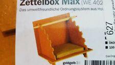aus Buchenholz 10,5 cm Zettelbox Zettelklotz Zettelhalter Notizblock