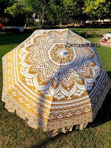 Patio Outdoor Decorate Beach Sun Shade Umbrella Indian Handmade Garden Umbrella