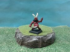 D&D or Pathfinder miniature hand painted Sword Wielding taunting Devil