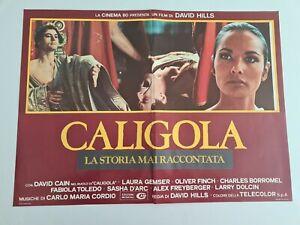Cinema Locandina Fotobusta CALIGOLA LA STORIA MAI RACCONTATA