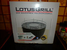 LotusGrill G-WE-34 Weiss Holzkohlegrill