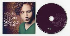 Michael Schulte cd-PROMO YOU SAID YOU'D GROW OLD WITH ME ©2012 German-2-Track