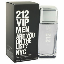 212 VIP  By Carolina Herrera for Men EDT Spray 6.7/6.8 oz New In Box