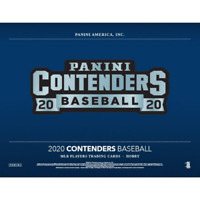 2020 PANINI CONTENDERS BASEBALL FACTORY SEALED HOBBY BOX PRESALE FREE SHIPPING