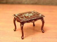 "Madeline Rose Piano BENCH MUSEUM QUALITY DOLLHOUSE FURNITURE 1/12 or 1"" BESPAQ"