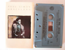 PAUL SIMON GRACELAND CASSETTE TAPE GREY CASSETTE WITH MATCHING GREY COVER
