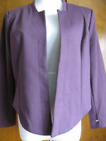 New w/tags WD-NY Women's Purple Detailed Blazer Size Large Retail Value $88