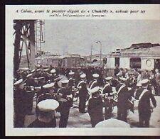 1966  --  CALAIS  AVANT LE PREMIER DEPART DU CHANTILLY