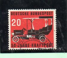 Alemania Federal Automoviles coches año 1955 (AY-963)