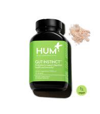 HUM Gut Instinct - 25 Billion CFU Skin Beauty & Support Vegan Probiotics...