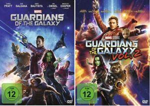 Guardians of the Galaxy 1+2 DVD Set Teil 1+2,Vol.1+2 NEU OVP Walt Disney, Marvel