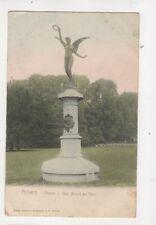 Anvers Statue J Van Beers au Parc Belgium U/B Postcard Hoffmann 418b