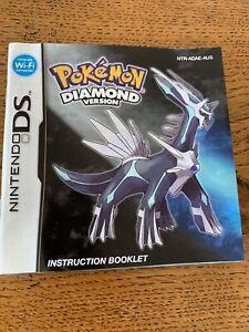 Pokemon Diamond Version (Nintendo DS, 2007)