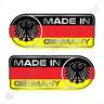 Made In Germany Car Sticker Set Vinyl Decal German Flag Sticker For Benz & BMW