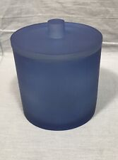 Pottery Barn Navy Serra Mix and Match Large Canister