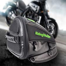 Motorcycle Bike Tank Bag Helmet Tail Waterproof Luggage Riding Tribe Travel Tool