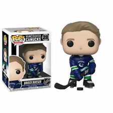Funko NHL Wave 3 BROCK BOESER Vancouver Canucks Home JERSEY Canada Exclusive Pop