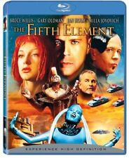 Blu Ray THE FIFTH ELEMENT. Bruce Willis sci fi. Region free. New sealed.