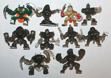 Moose Fistful of Power Mini Action Figure Lot #6 of 10x Figures