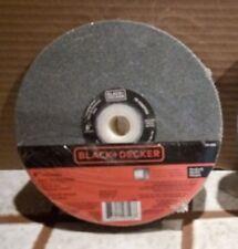 "Black & Decker 6"" Medium Bench Grinder Grinding wheel Use with Ferrous Metal NEW"