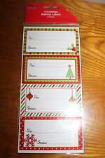 Christmas Baking Labels New 8 pack Gifts To - From Stickers