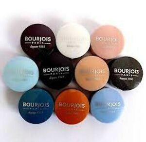 Bourjois Little Round Pot Eyeshadow Pick A Shade Blue Teal Pink Beige Grey White