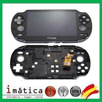 PANTALLA COMPLETA PS VITA 1000 PSP CON MARCO FAT ORIGINAL ASSEMBLY LCD SONY 1004