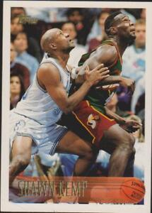 1996/97  topps shawn  kemp   # 50
