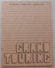 Grand Touring Magazine 1974 Vol one No one press brochure prospekt book ferrari