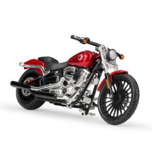Maisto 1:18 Harley Davidson 2016 BREAKOUT Bike Motorcycle Model Red NEW IN BOX