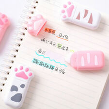 Cat Claw Decorative Correction Tape Diary Stationery Office Cute School Suppl_EO