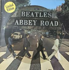 THE BEATLES ~ Abbey Road ~ RARE APPLE LP RARE ORIGINAL 1979 Dutch PICTURE DISC