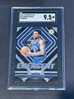 2018 Panini Prizm Emergent SGC 9.5 Aaron Holiday RC Low POP Rookie PSA ?