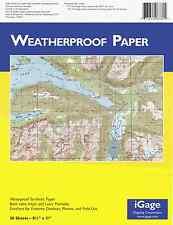 iGage All-Weather Paper Laser/Inkjet 8.5 x 11 10 Mil 500 Sheets